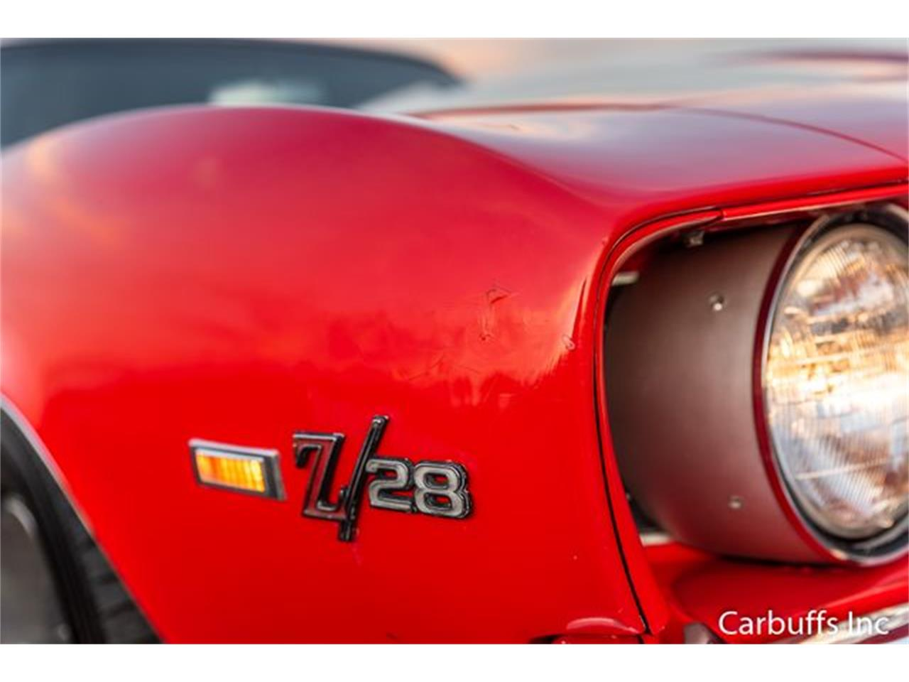 Large Picture of 1969 Camaro located in Concord California Offered by Carbuffs - Q4US