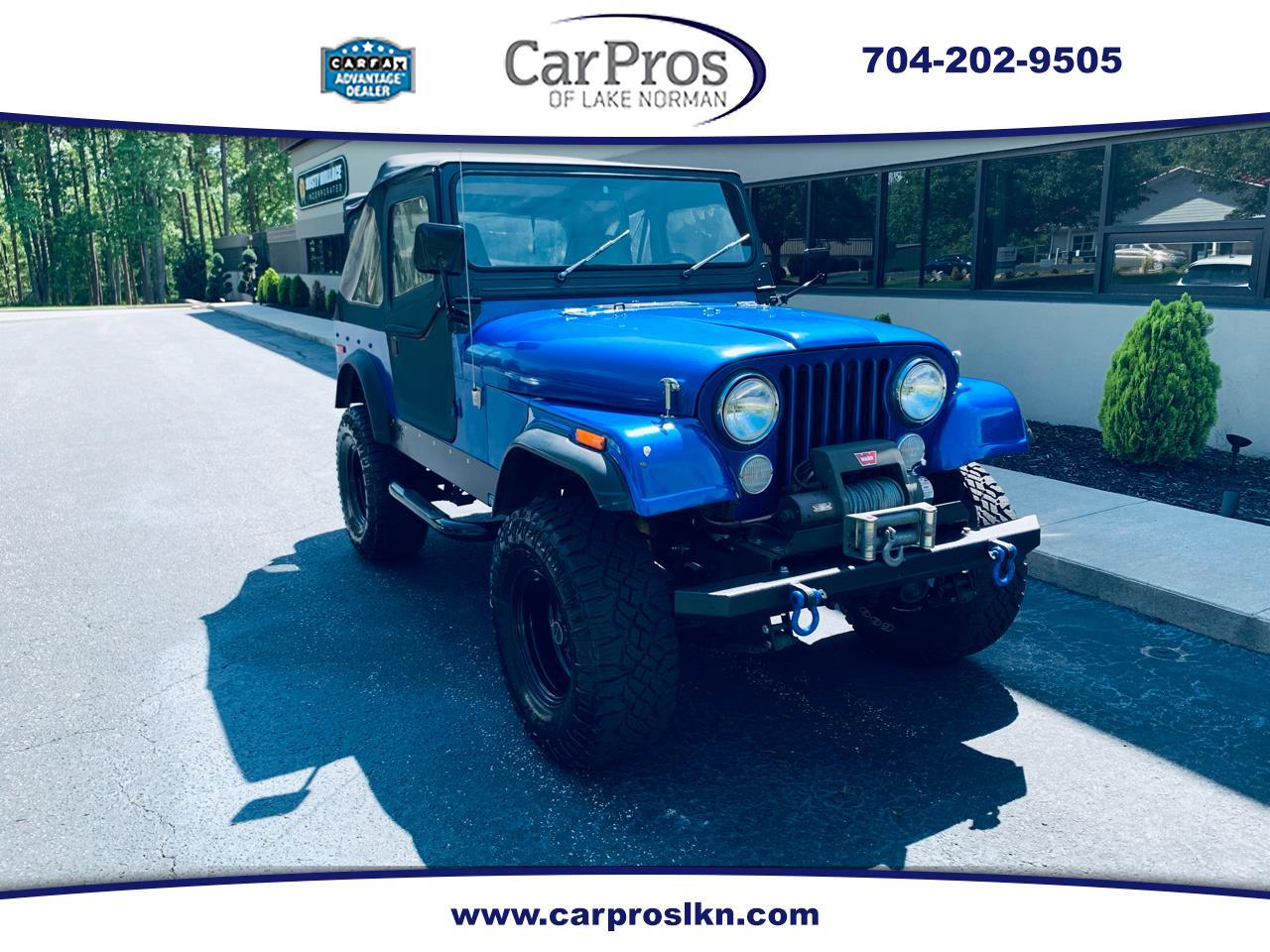 Large Picture of '78 CJ5 - Q4VL