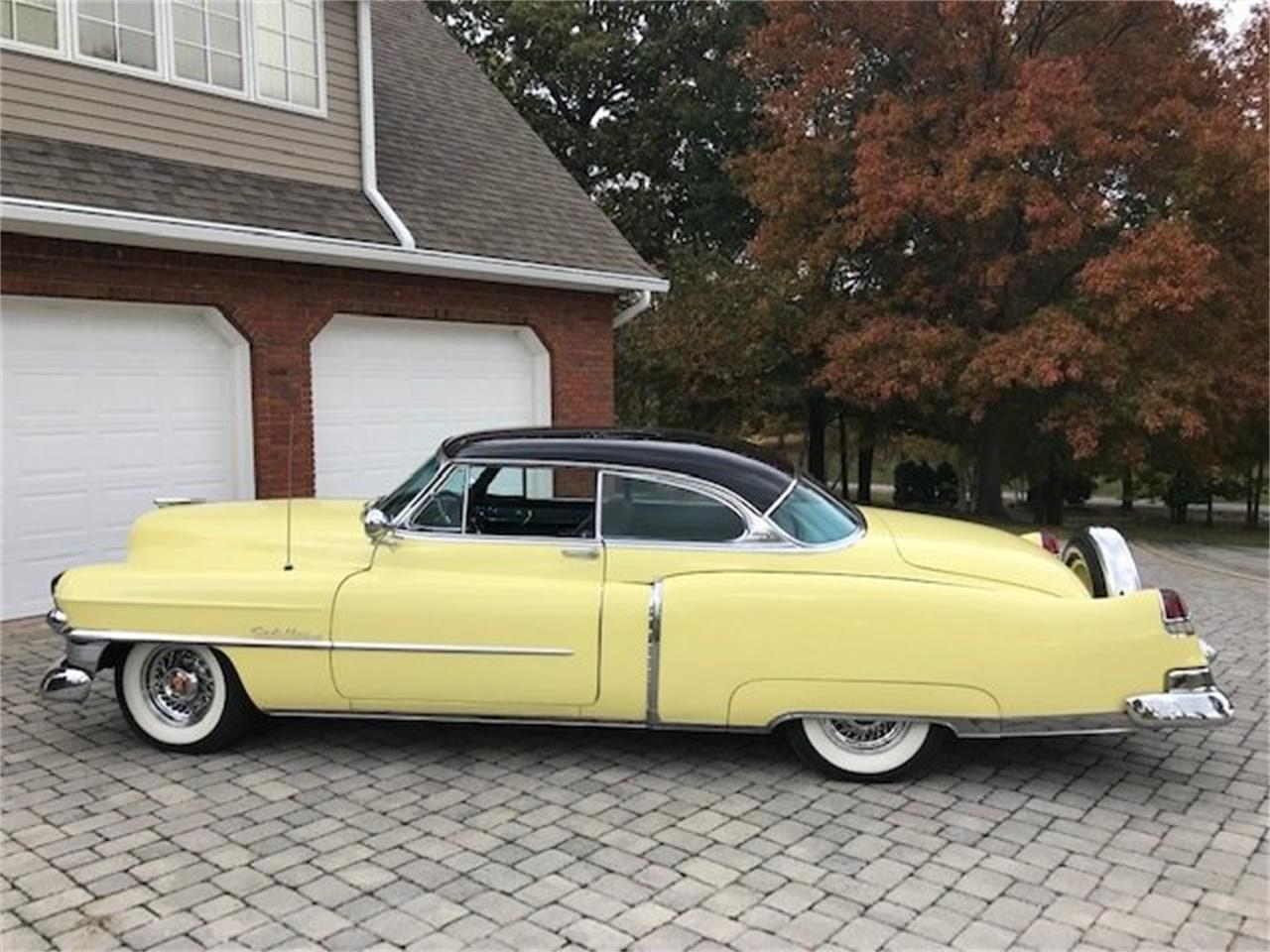 Large Picture of Classic 1953 Cadillac Coupe Auction Vehicle Offered by Tom Mack Auctions - Q4VT