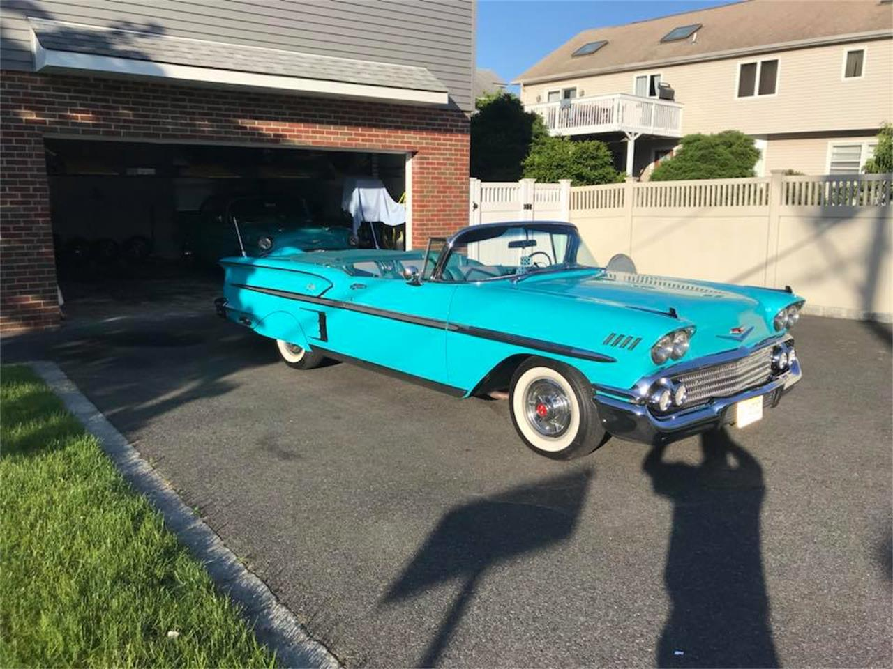 Large Picture of '58 Chevrolet Impala located in Pennsylvania Auction Vehicle - Q4XR