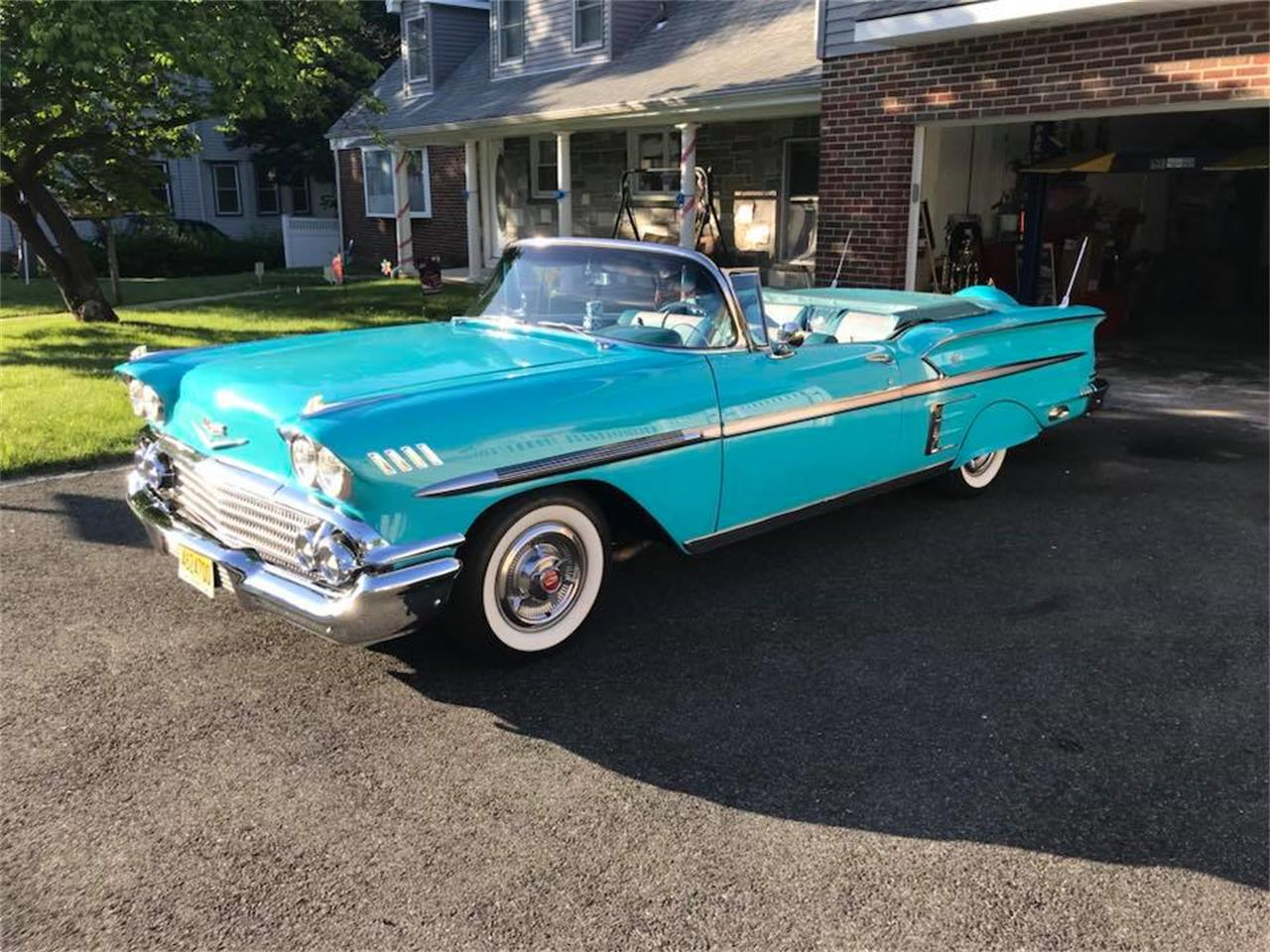 Large Picture of '58 Chevrolet Impala Offered by Central Pennsylvania Auto Auction - Q4XR