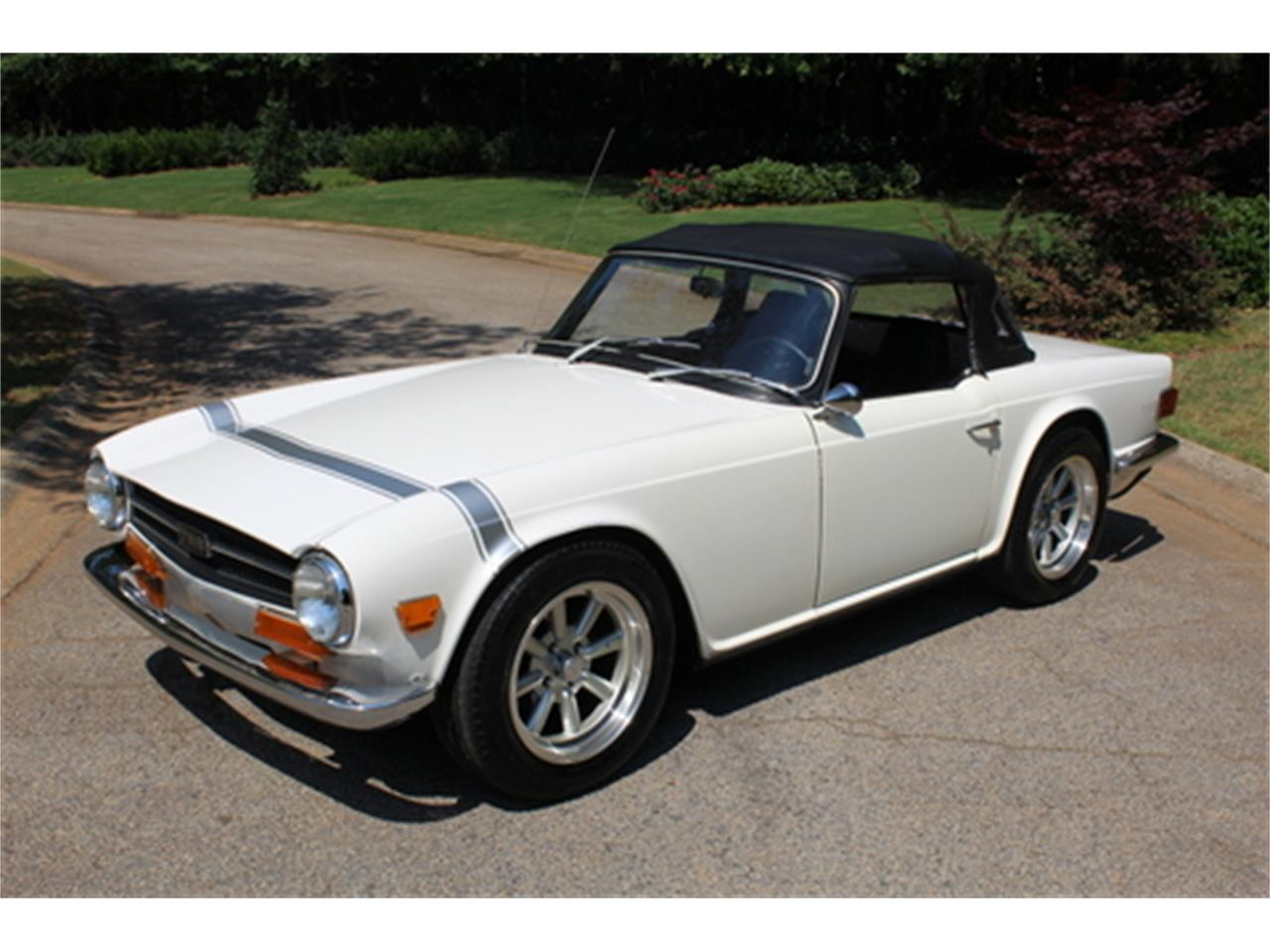 Large Picture of '70 TR6 - Q4YT