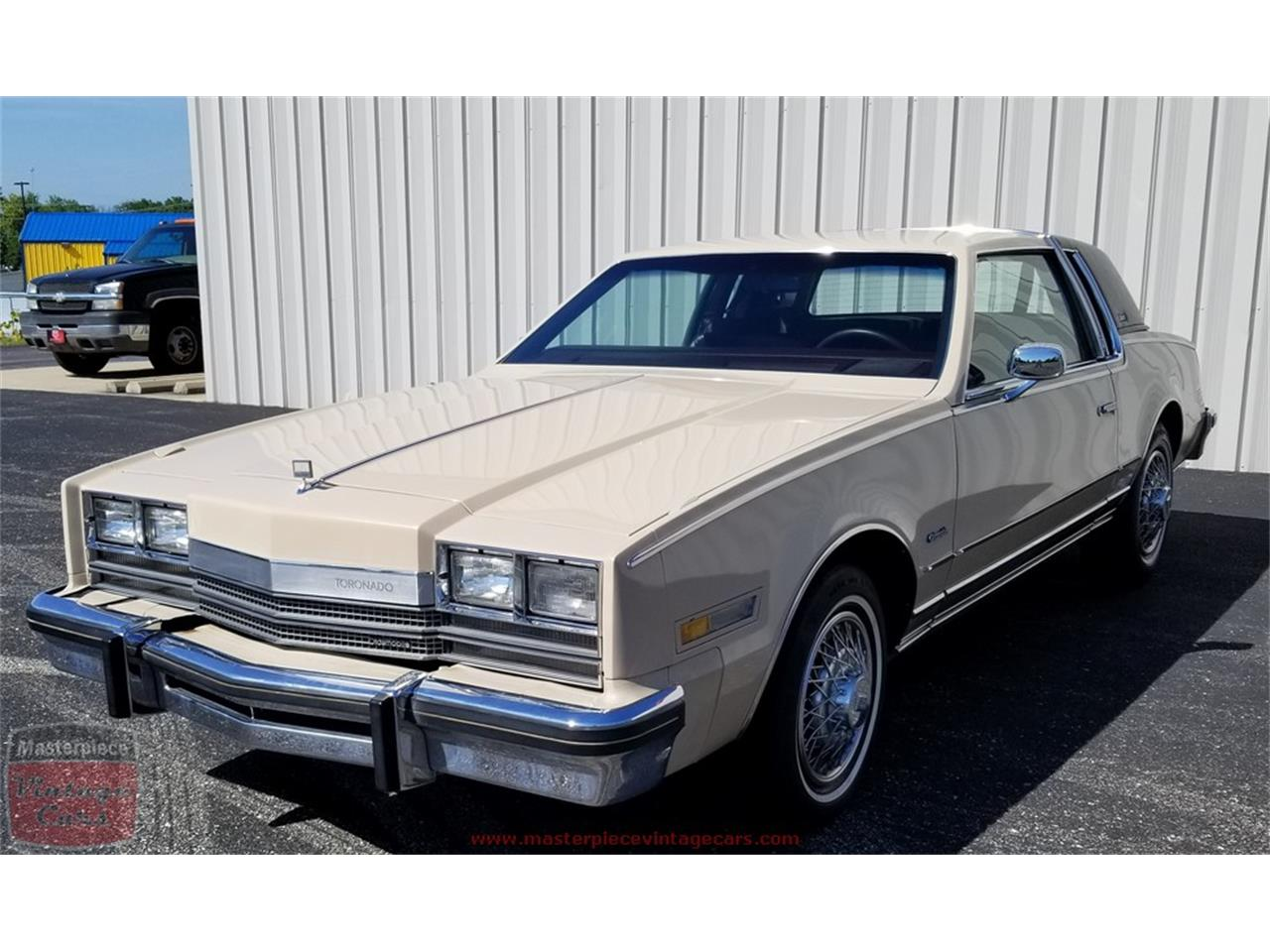 Large Picture of 1985 Oldsmobile Toronado located in Whiteland Indiana Offered by Masterpiece Vintage Cars - Q4ZA