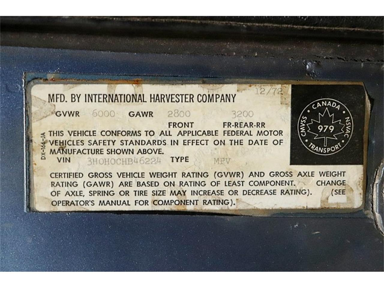 Large Picture of '73 International Harvester - $19,900.00 Offered by GR Auto Gallery - Q50E