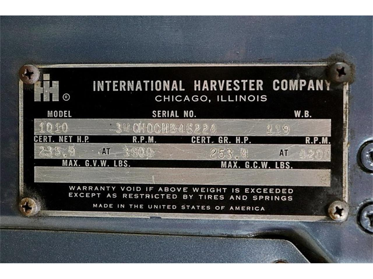 Large Picture of Classic 1973 Harvester located in Michigan - Q50E