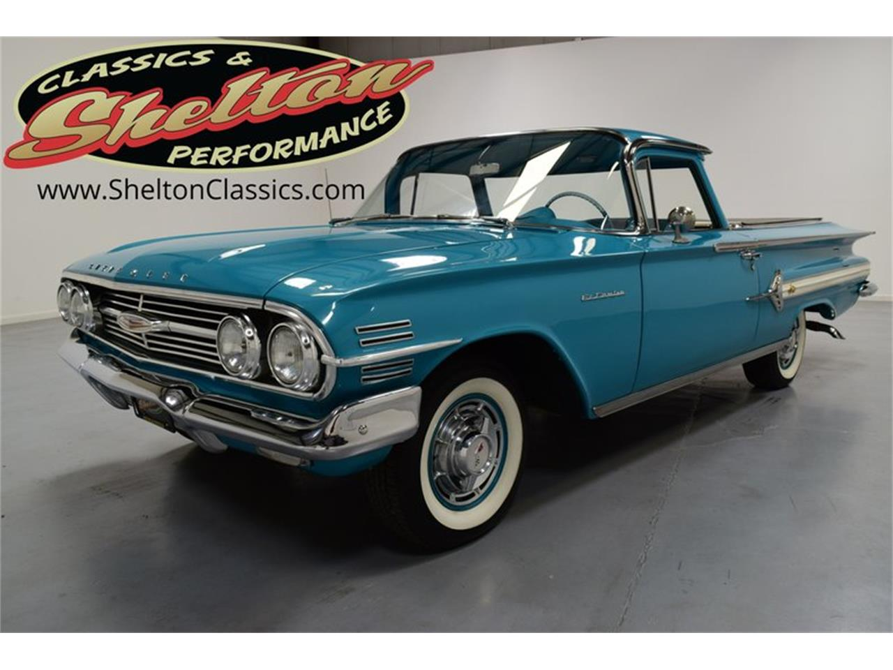 Large Picture of Classic 1960 Chevrolet El Camino Offered by Shelton Classics & Performance - Q525