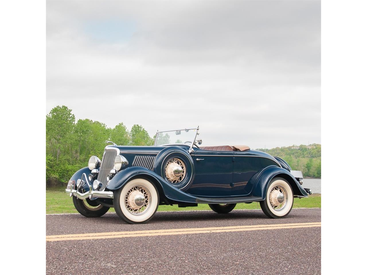 Large Picture of Classic '34 Roadster Offered by MotoeXotica Classic Cars - Q53N