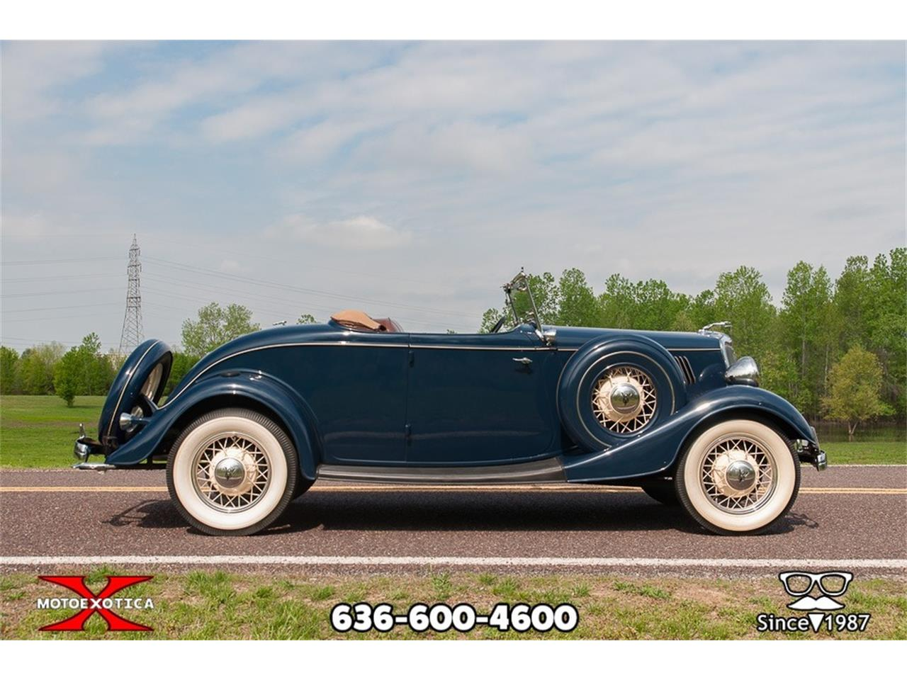 Large Picture of 1934 Ford Roadster located in Missouri - $59,900.00 - Q53N