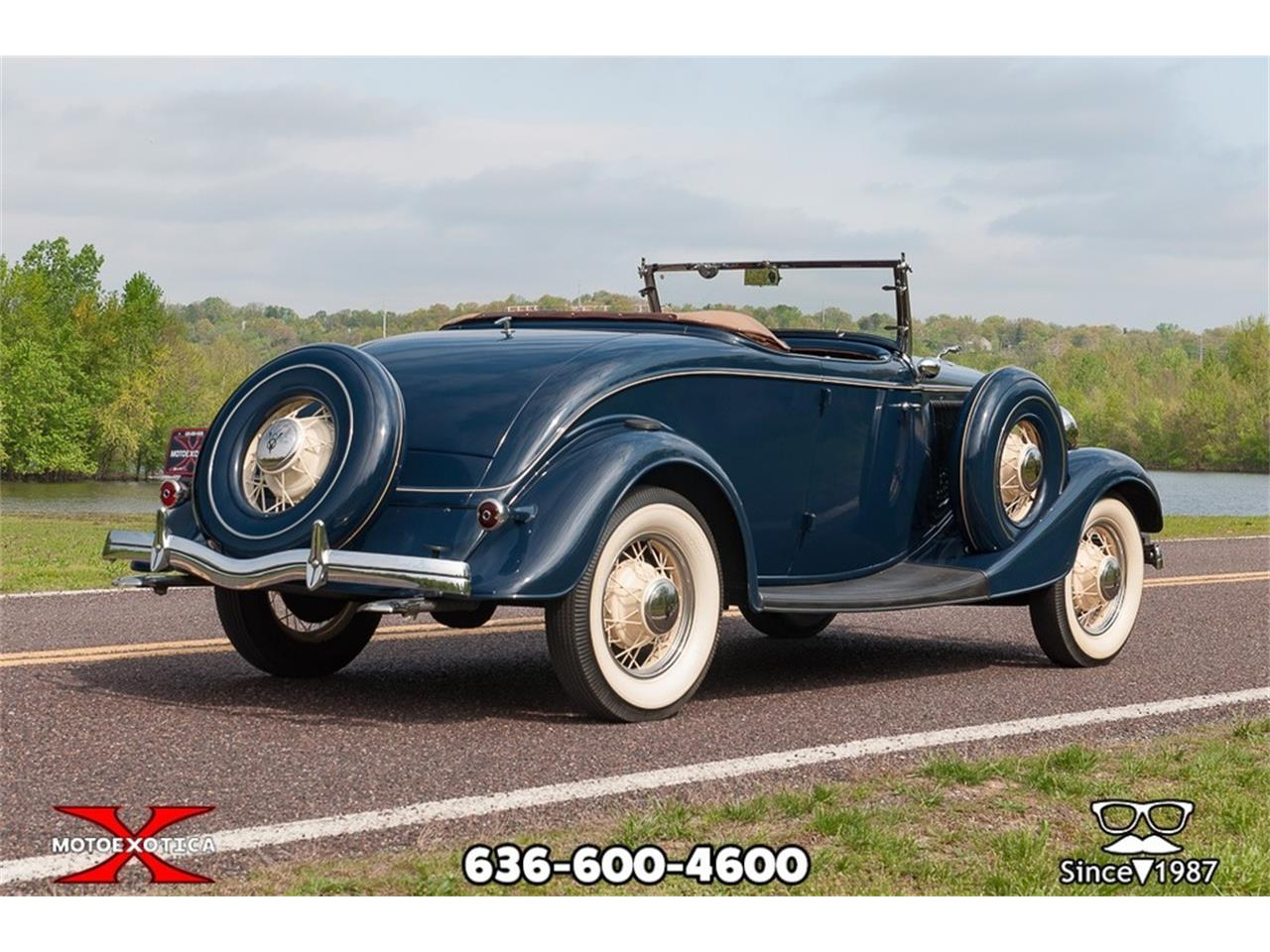 Large Picture of Classic 1934 Ford Roadster - Q53N
