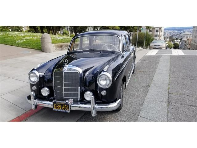 Picture of Classic '58 Mercedes-Benz 220 located in San Francisco California - Q54P