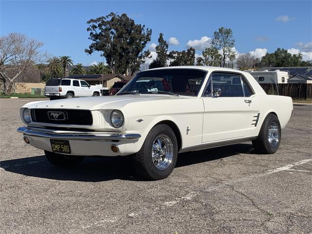 Picture of Classic 1966 Mustang located in Escondido California Auction Vehicle - Q55B