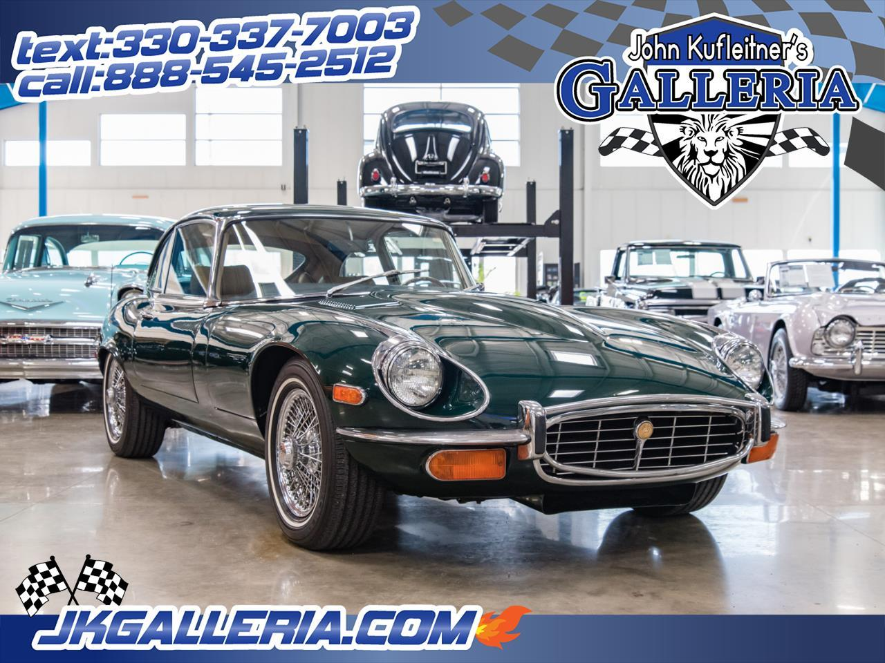 Large Picture of '72 Jaguar E-Type located in Salem Ohio - $54,800.00 Offered by John Kufleitner's Galleria - Q55P