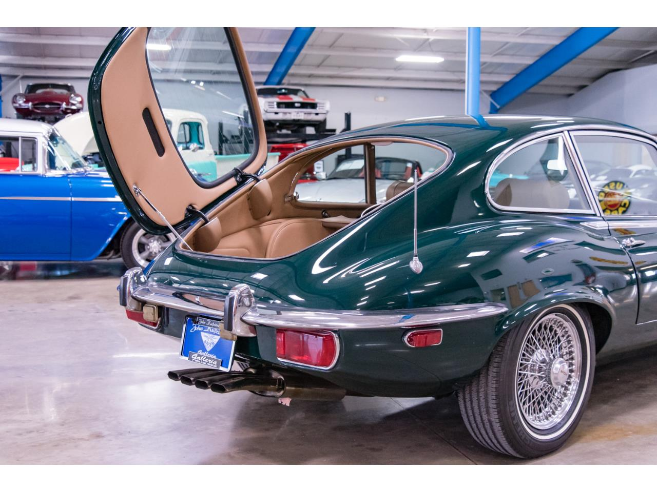 Large Picture of Classic 1972 Jaguar E-Type - Q55P