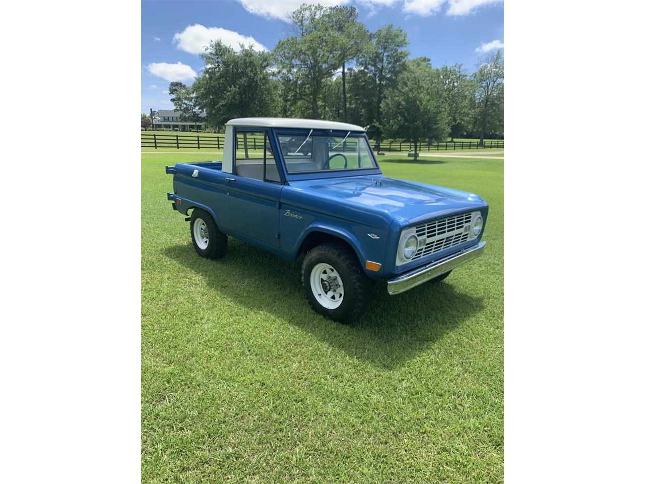 Large Picture of 1968 Ford Bronco located in Mississippi Auction Vehicle - Q561