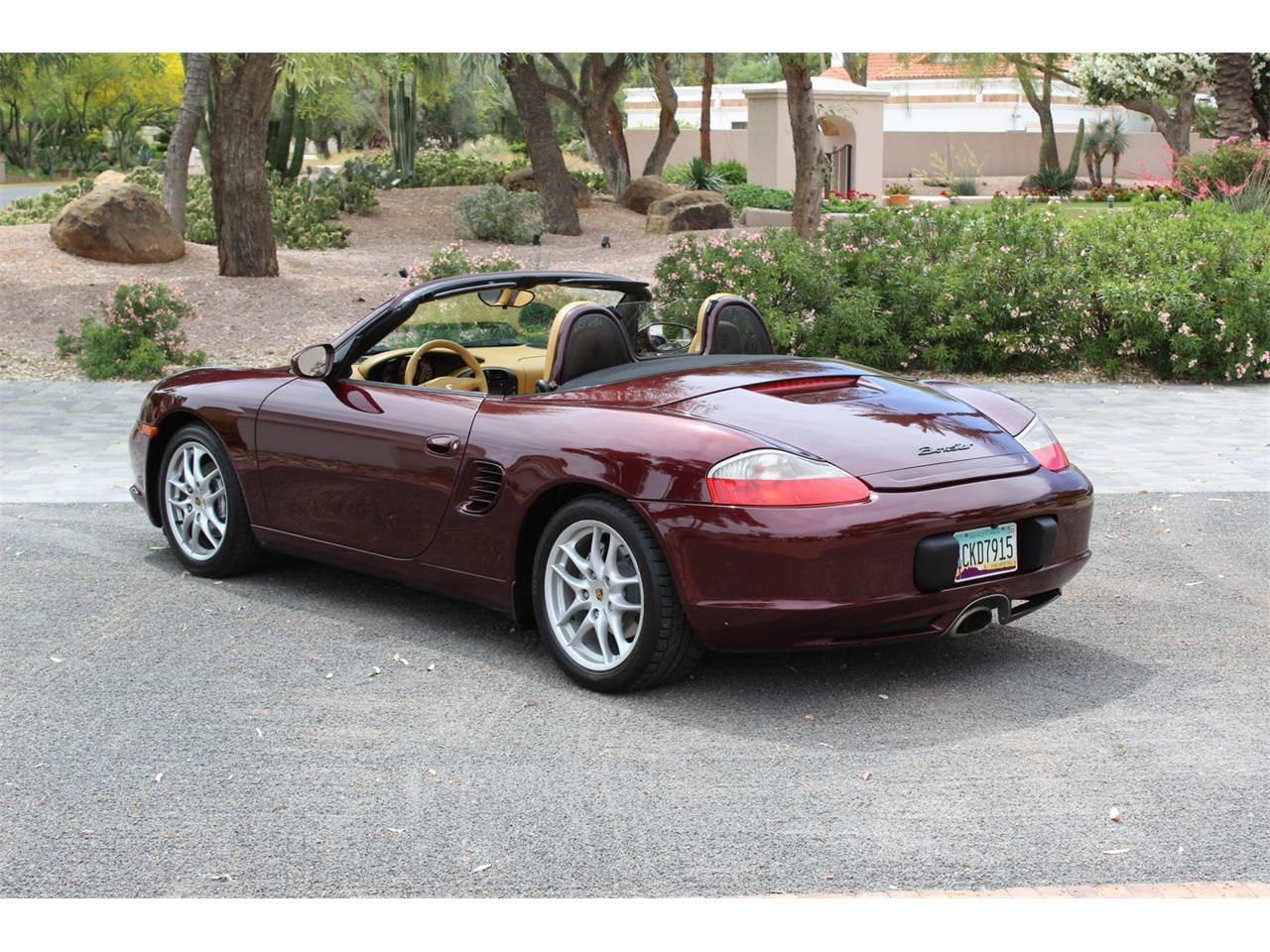 Large Picture of 2004 Porsche Boxster Auction Vehicle Offered by Bring A Trailer - Q56F