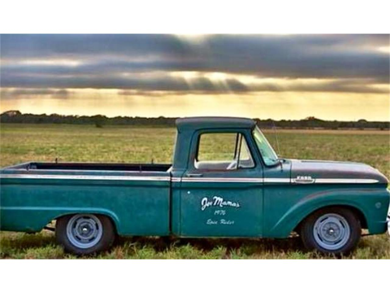 Large Picture of '64 F100 - Q58M