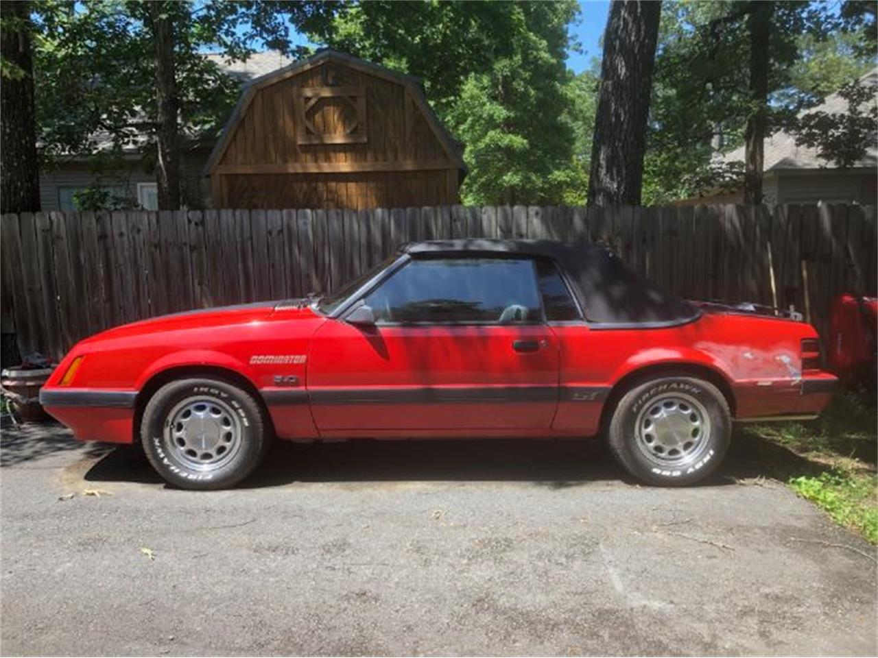 For Sale: 1986 Ford Mustang in Cadillac, Michigan