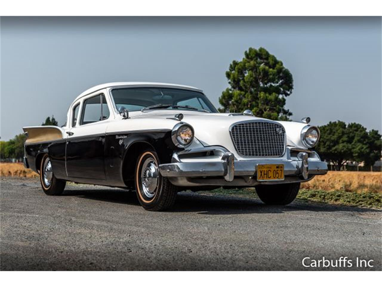 Large Picture of '57 Silver Hawk - Q5AV
