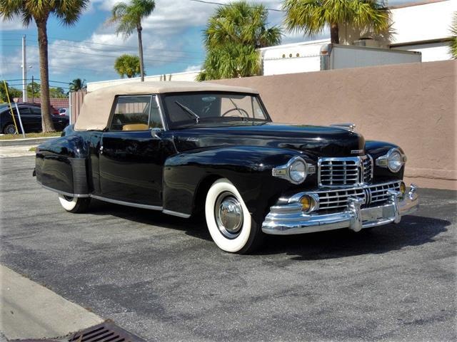 Picture of '48 Lincoln Continental located in Boca Raton Florida Offered by  - Q5BZ