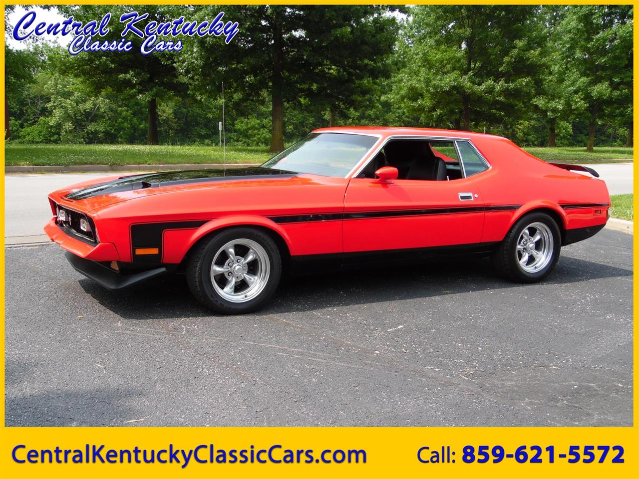 For sale 1971 ford mustang mach 1 in paris kentucky
