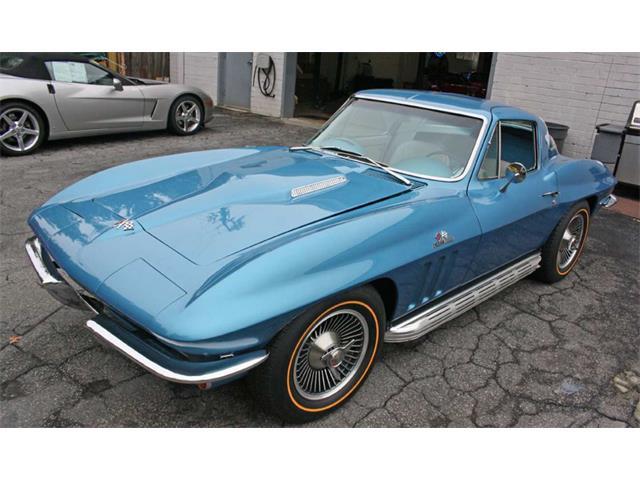 Picture of Classic '66 Chevrolet Corvette Auction Vehicle - Q66A