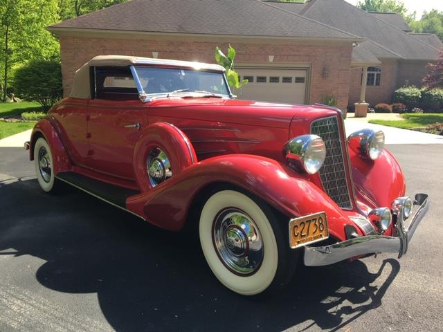 Picture of '34 Auburn 850Y located in Pennsylvania Auction Vehicle - Q688
