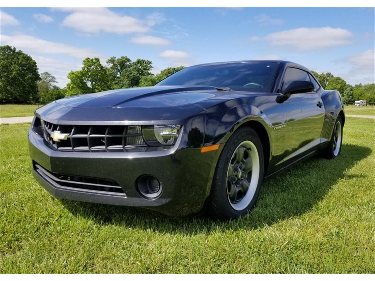 Large Picture of 2013 Chevrolet Camaro located in Oklahoma Auction Vehicle Offered by Leake Auction Company - Q69M