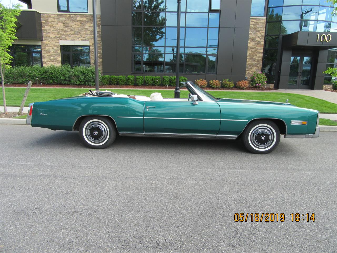 Large Picture of '76 Eldorado Auction Vehicle Offered by Central Pennsylvania Auto Auction - Q5G8