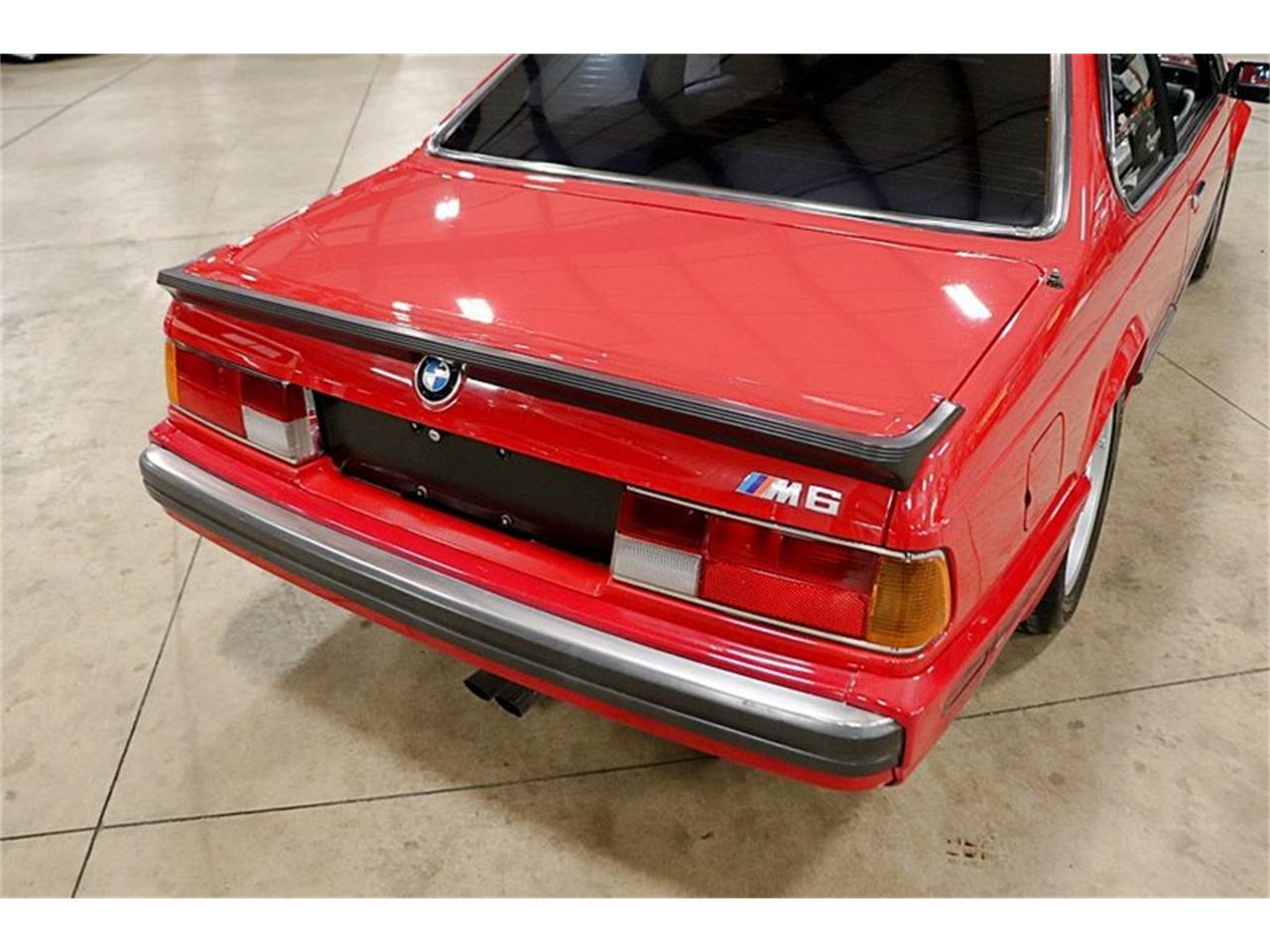 Large Picture of 1988 BMW M6 located in Michigan Offered by GR Auto Gallery - Q6CR
