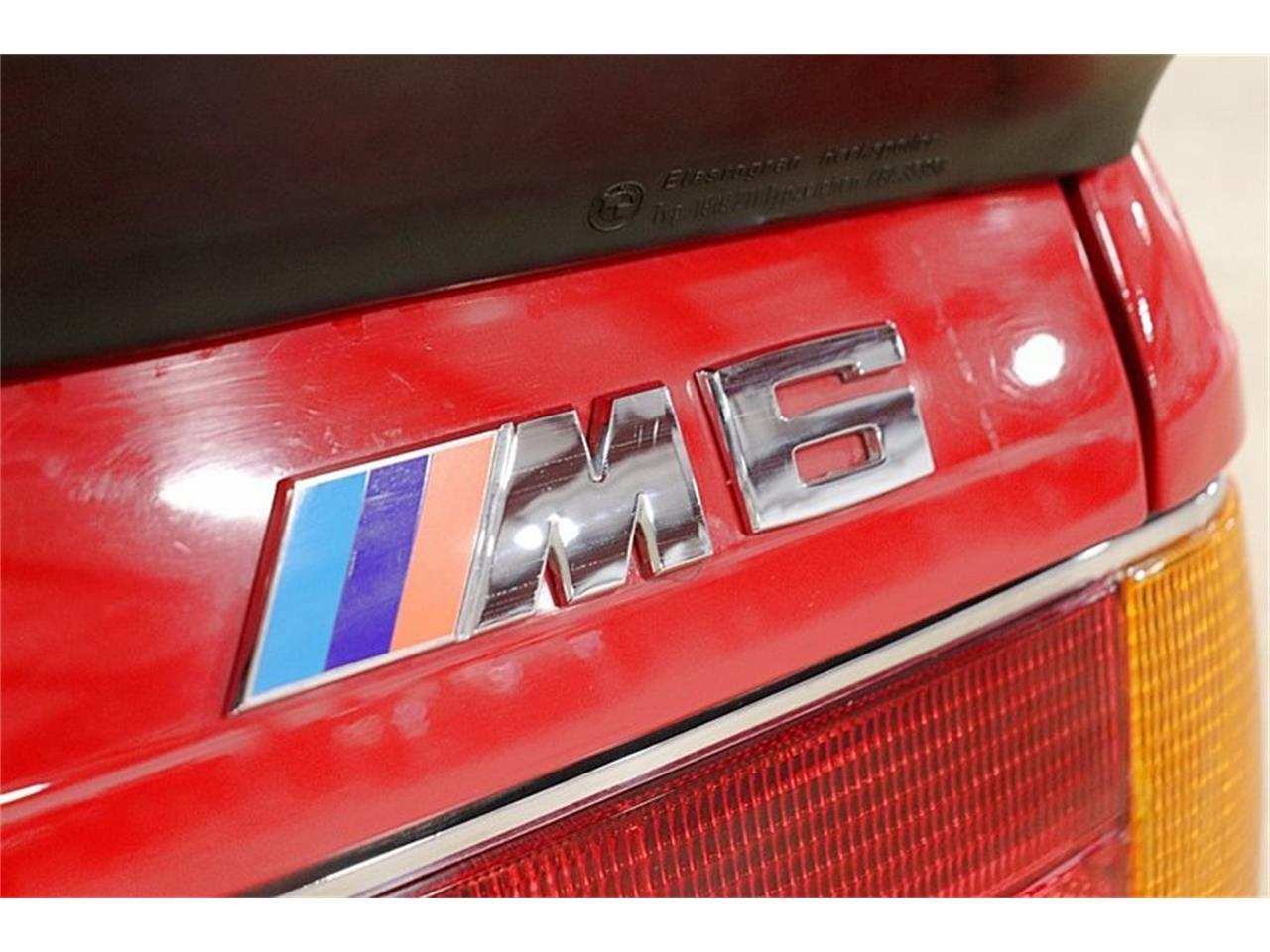 Large Picture of 1988 BMW M6 located in Michigan - Q6CR