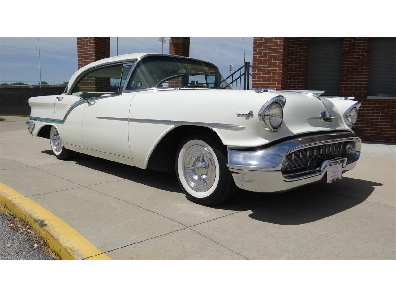 Large Picture of '57 Oldsmobile Super 88 located in Davenport Iowa Offered by Klemme Klassic Kars - Q5GJ