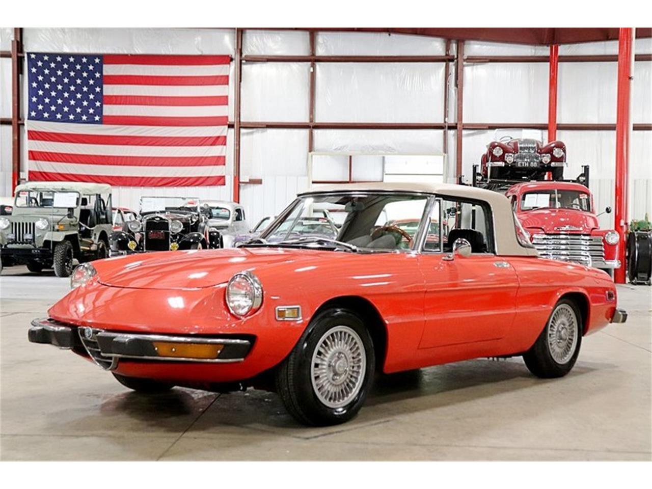 Large Picture of 1974 Alfa Romeo Spider located in Kentwood Michigan - $14,900.00 Offered by GR Auto Gallery - Q6DB