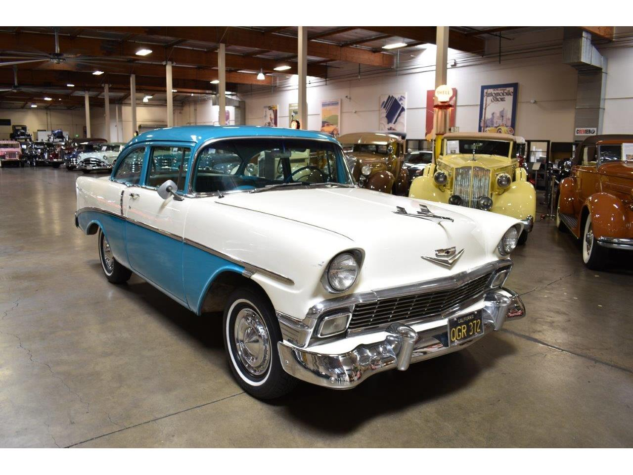 Large Picture of Classic '56 Chevrolet Bel Air located in Costa Mesa California - $19,900.00 Offered by Crevier Classic Cars - Q5GK