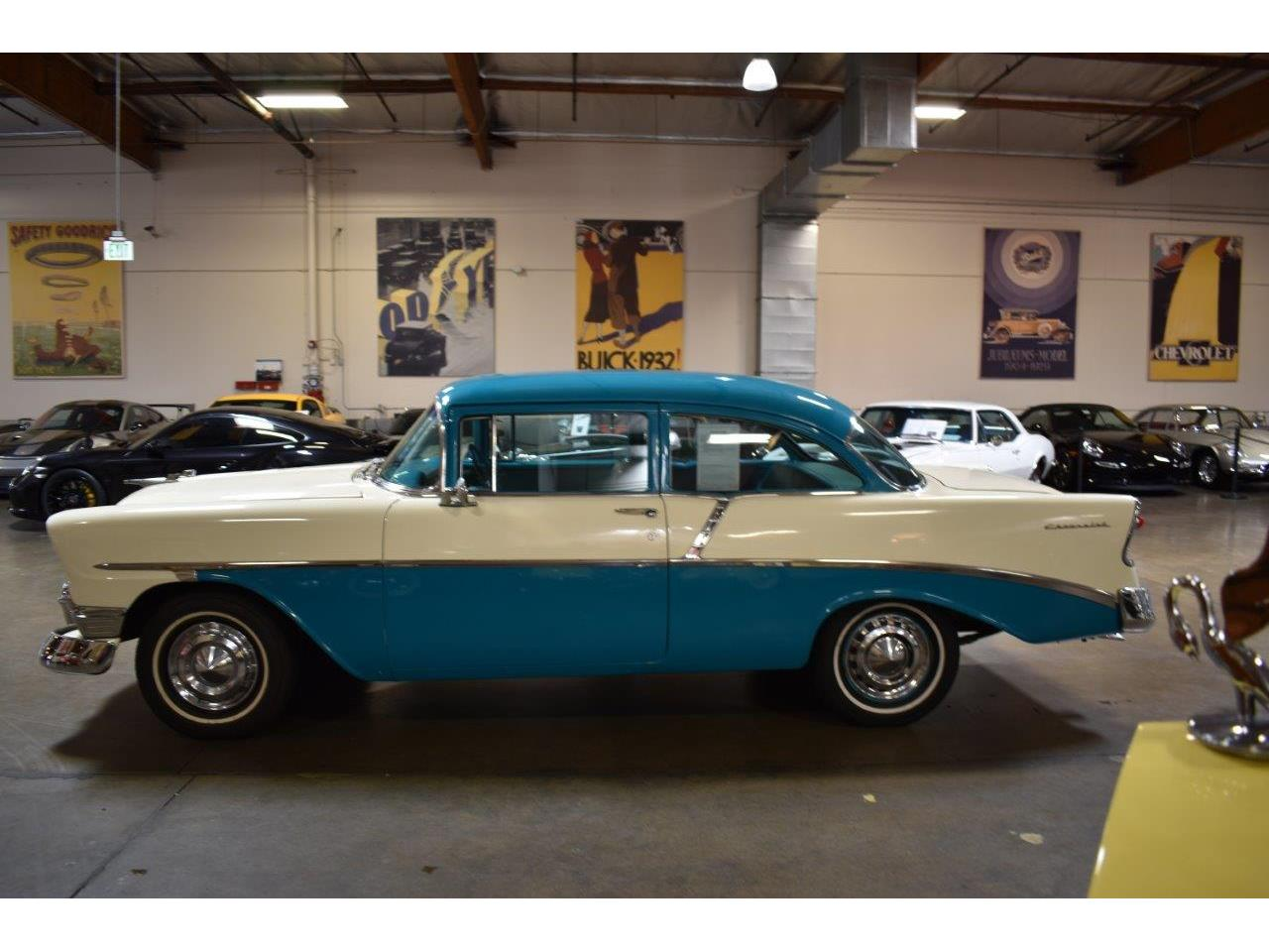 Large Picture of Classic '56 Chevrolet Bel Air located in California - $19,900.00 Offered by Crevier Classic Cars - Q5GK
