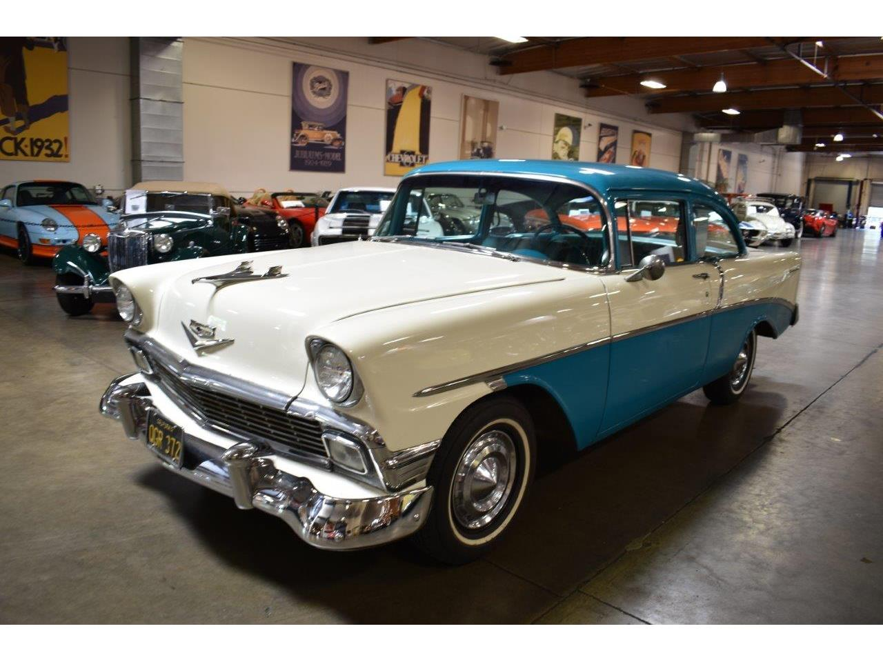 Large Picture of '56 Bel Air located in Costa Mesa California Offered by Crevier Classic Cars - Q5GK