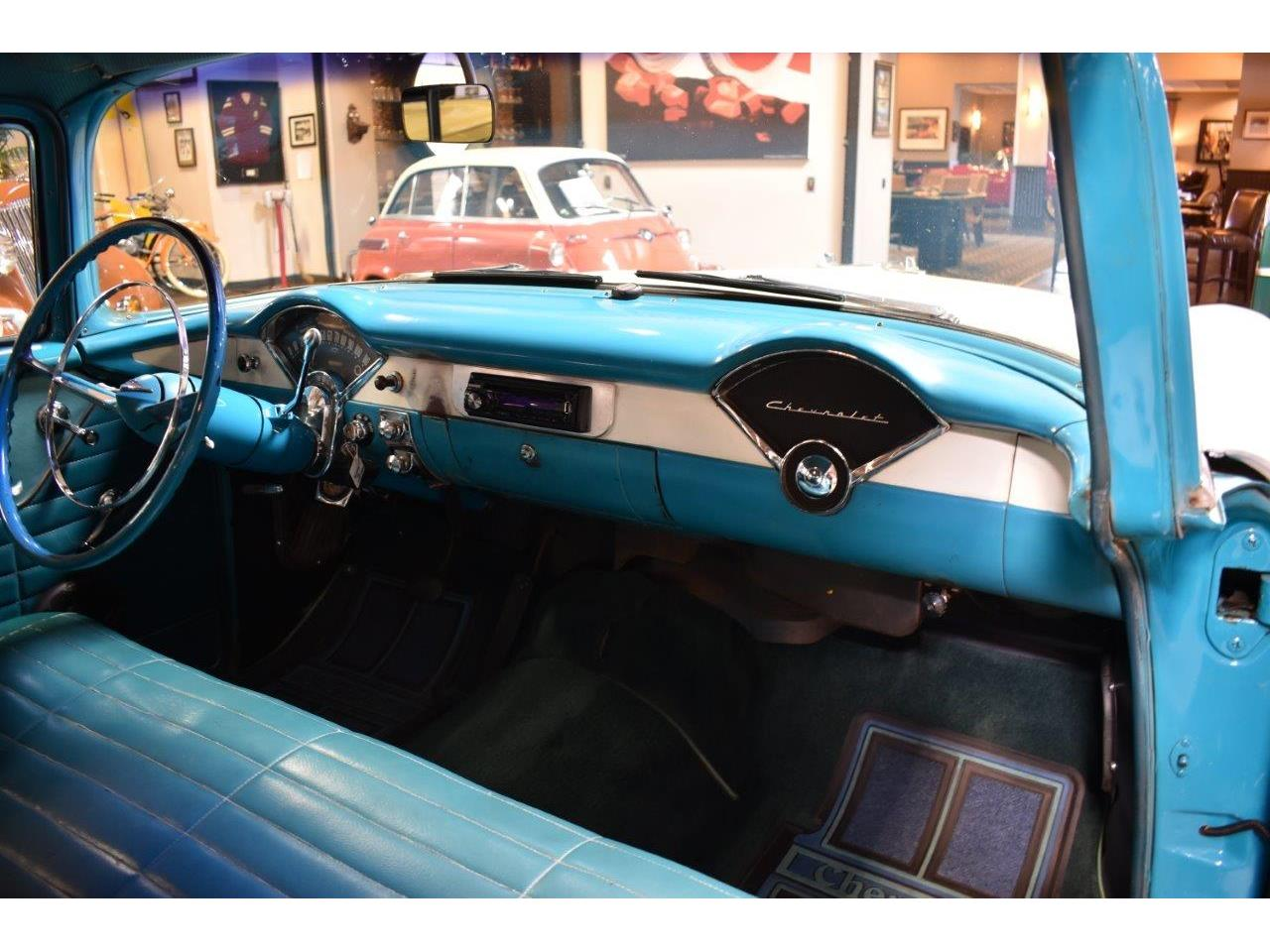Large Picture of '56 Chevrolet Bel Air Offered by Crevier Classic Cars - Q5GK