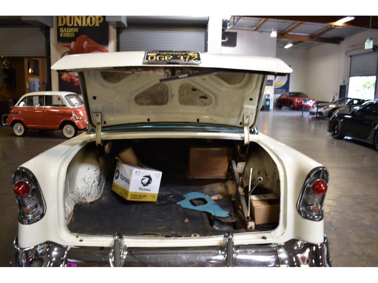 Large Picture of '56 Chevrolet Bel Air located in California Offered by Crevier Classic Cars - Q5GK