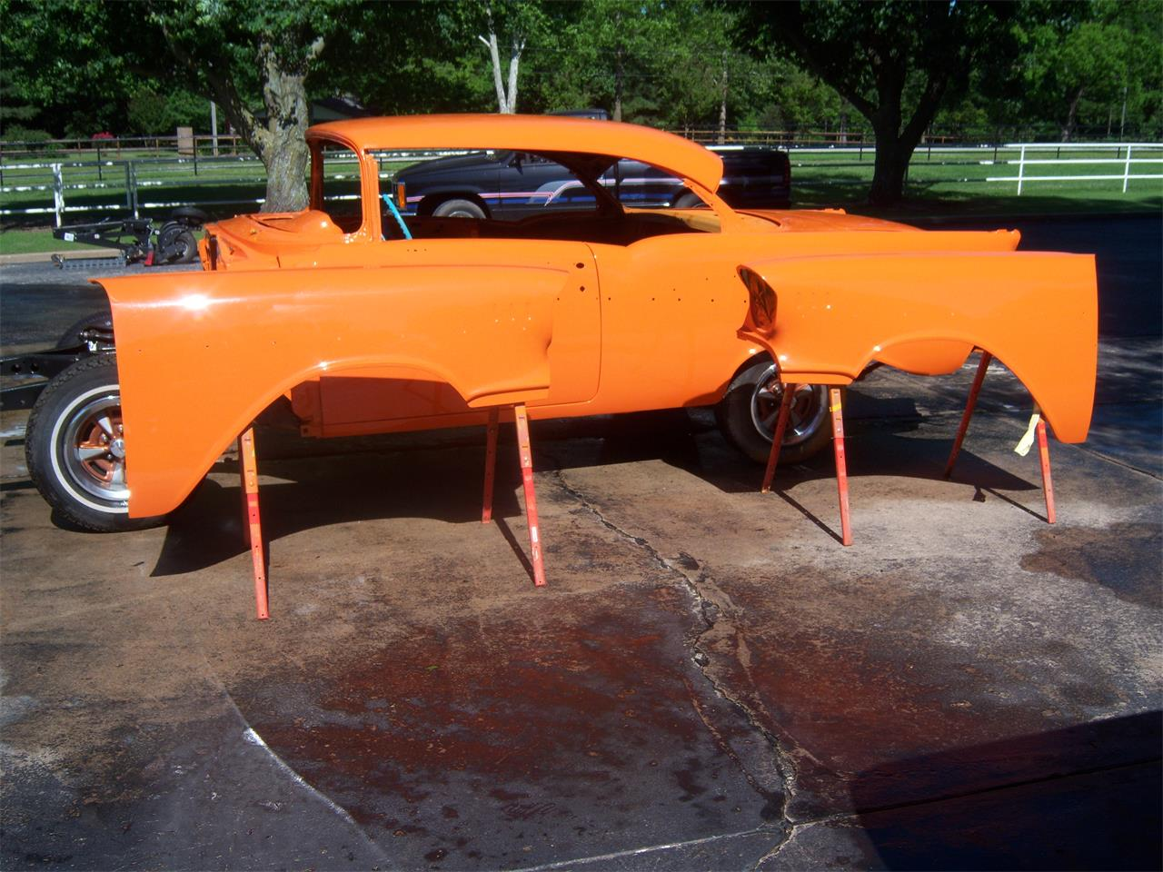large picture of classic '57 2-dr hardtop located in coweta oklahoma -  $25,000 00