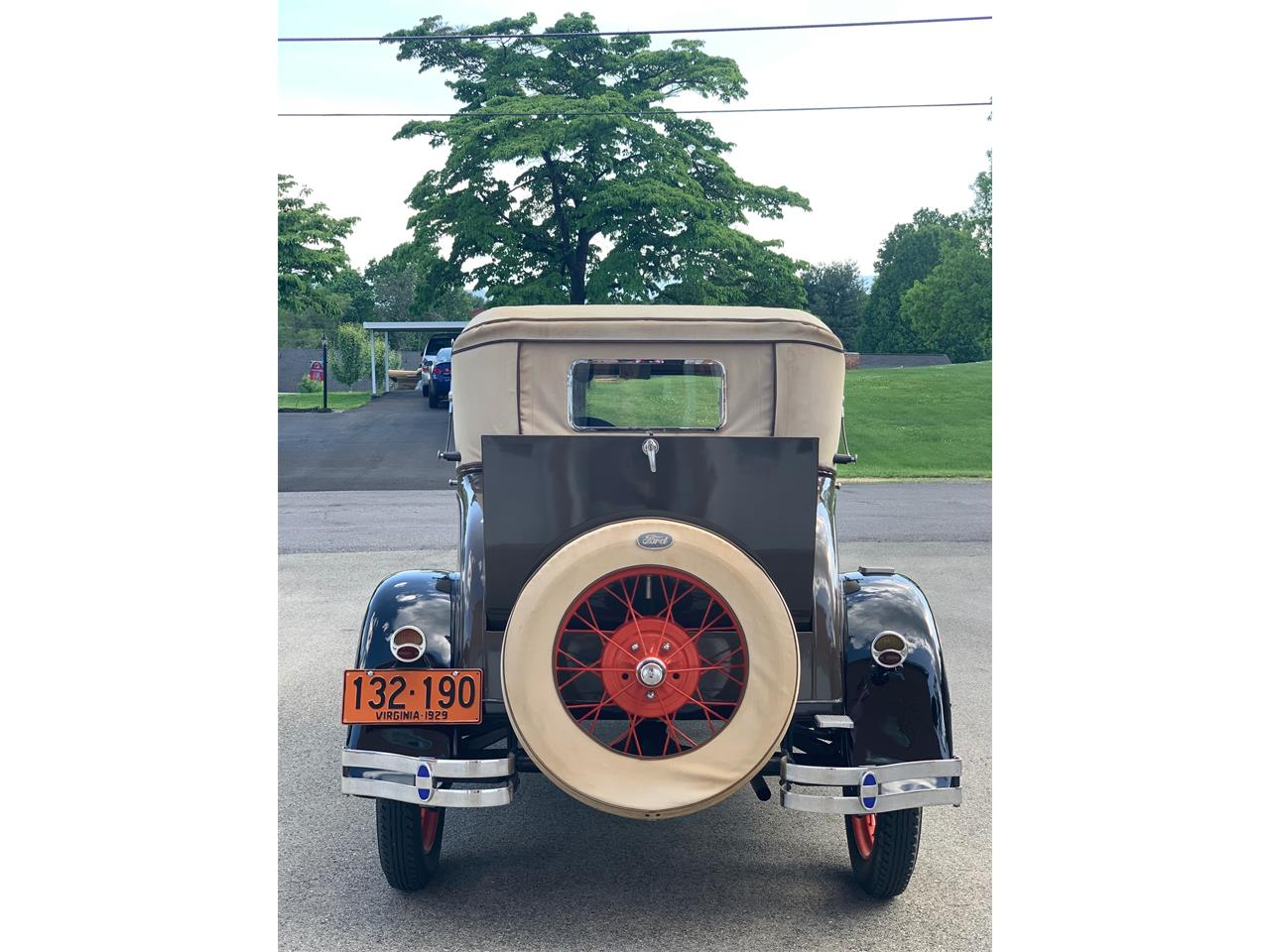 Large Picture of '29 Model A - Q5GR
