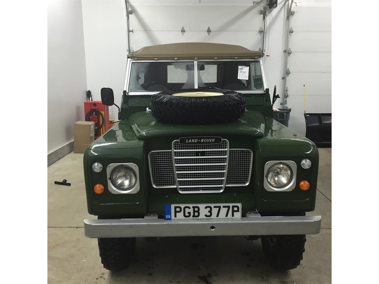 Large Picture of 1976 Land Rover Series II 88 located in New Hampshire Offered by a Private Seller - Q5DA