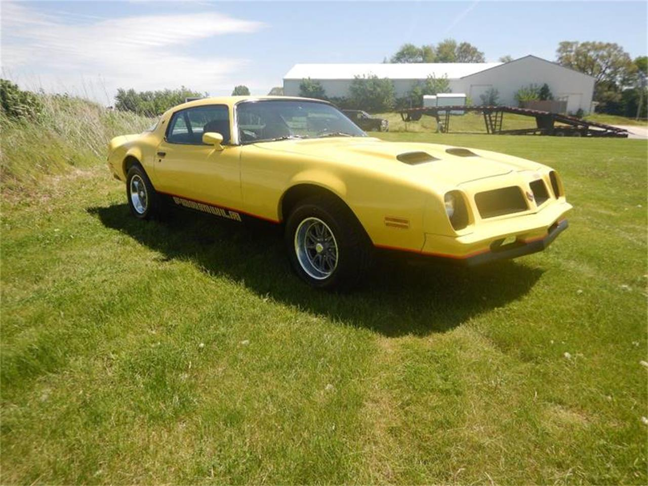 Large Picture of 1976 Pontiac Firebird located in Clarence Iowa Offered by Kinion Auto Sales & Service - Q6J2