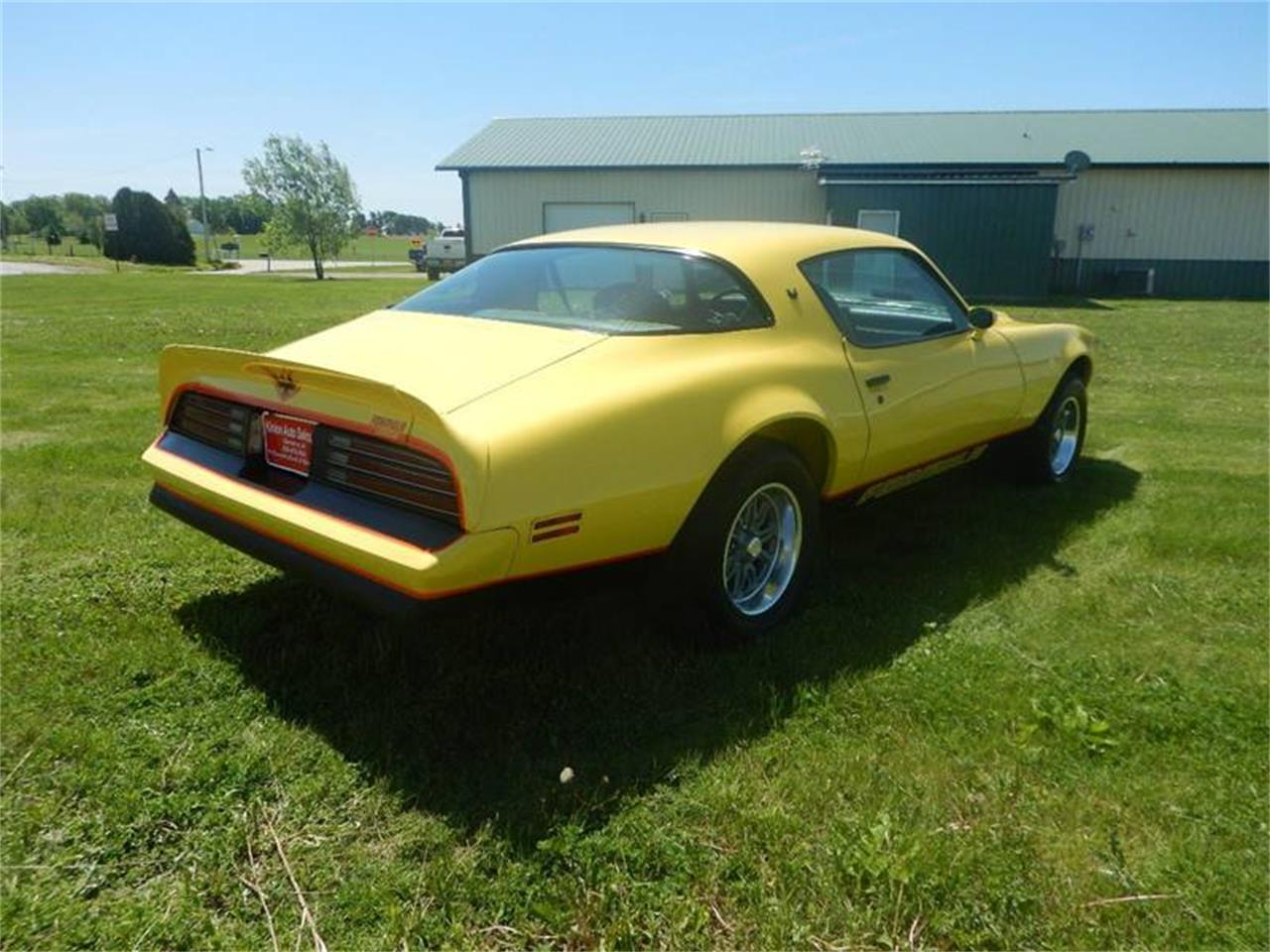 Large Picture of '76 Pontiac Firebird located in Clarence Iowa Offered by Kinion Auto Sales & Service - Q6J2