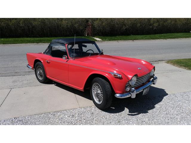 Triumph Tr4 For Sale Bc