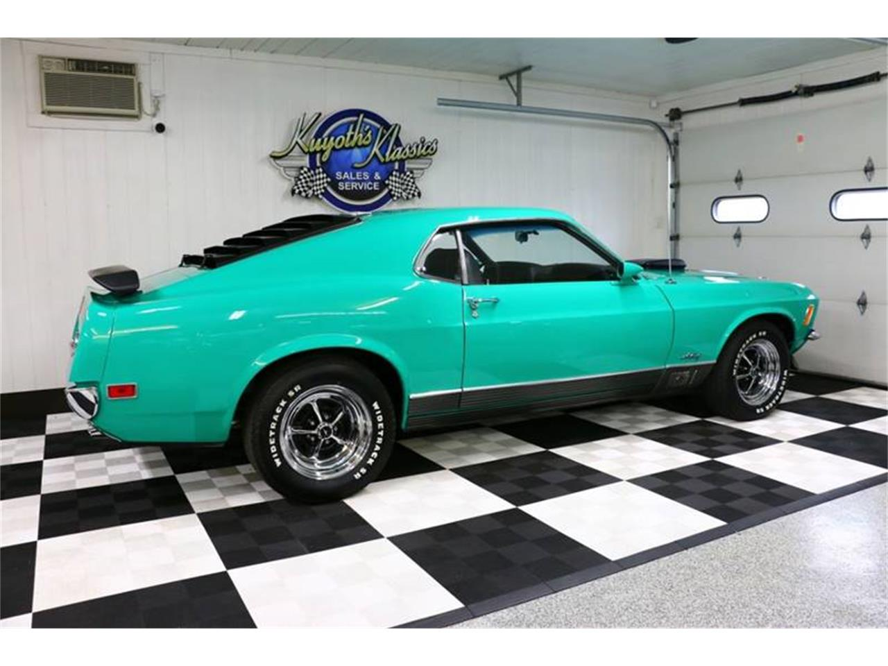 Large Picture of Classic '70 Ford Mustang located in Stratford Wisconsin - $49,995.00 Offered by Kuyoth's Klassics - Q6NU