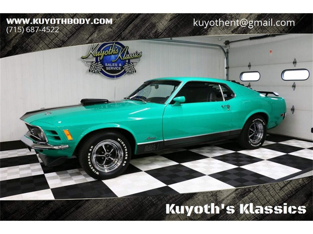 Large Picture of Classic 1970 Mustang Offered by Kuyoth's Klassics - Q6NU