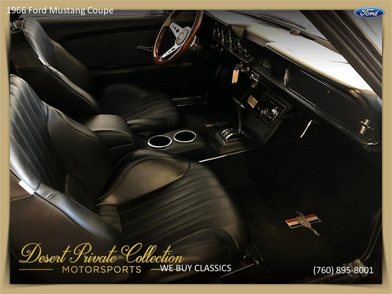 Large Picture of '66 Mustang Offered by Palm Desert Auto - Q6O0
