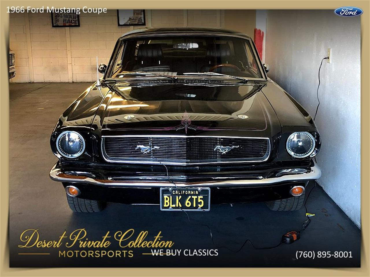Large Picture of Classic '66 Ford Mustang located in Palm Desert  California - Q6O0