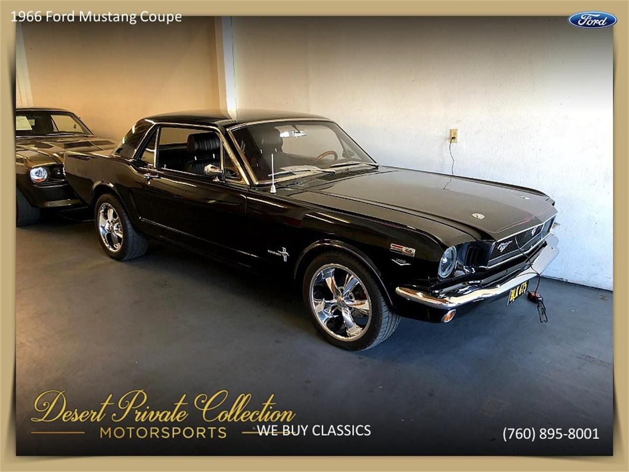 Large Picture of Classic '66 Mustang located in Palm Desert  California - $29,950.00 Offered by Palm Desert Auto - Q6O0