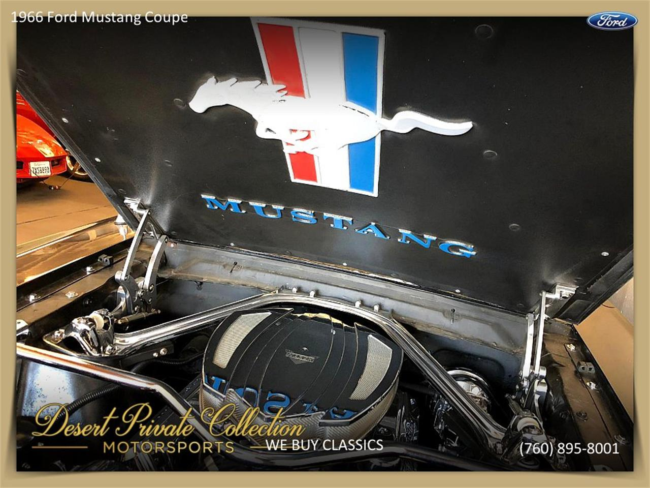 Large Picture of '66 Ford Mustang located in Palm Desert  California - Q6O0