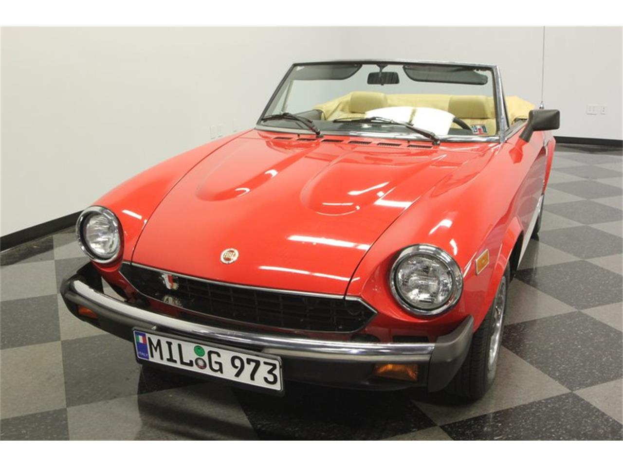 Large Picture of 1980 Fiat Spider located in Florida - $21,995.00 Offered by Streetside Classics - Tampa - Q5HU